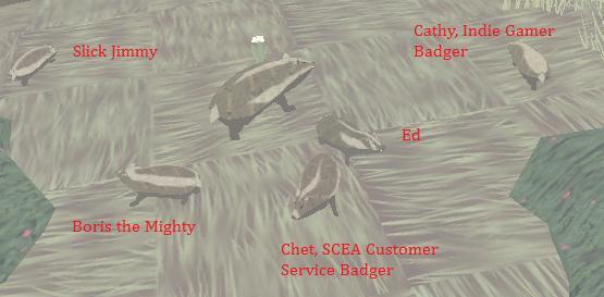 Muh Badger Family